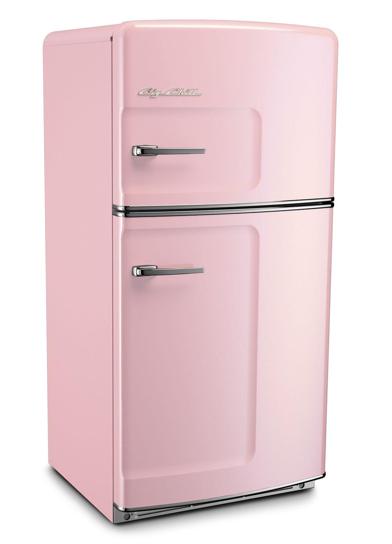 I Want This Pink Lemonade Retro Refrigerator By Big Chill