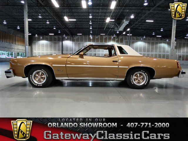 1976 Pontiac Grand Prix LJ w/Hurst T tops, 455 4bbl V8 & TH400 Auto