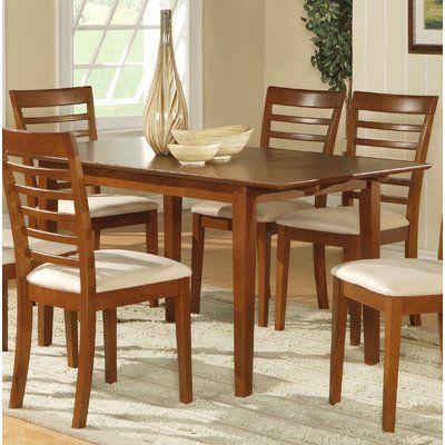 Red Barrel Studio Cartley Dining Table Wayfair In 2020 Solid Wood Dining Table Extendable Dining Table Dining