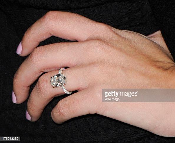 Writer Tv Personality Morgan Stewart Ring Detail Attends Nami S