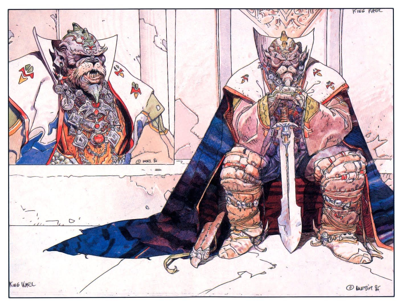 Moebius inspiration pinterest art conceptuel art for Art conceptuel oeuvre