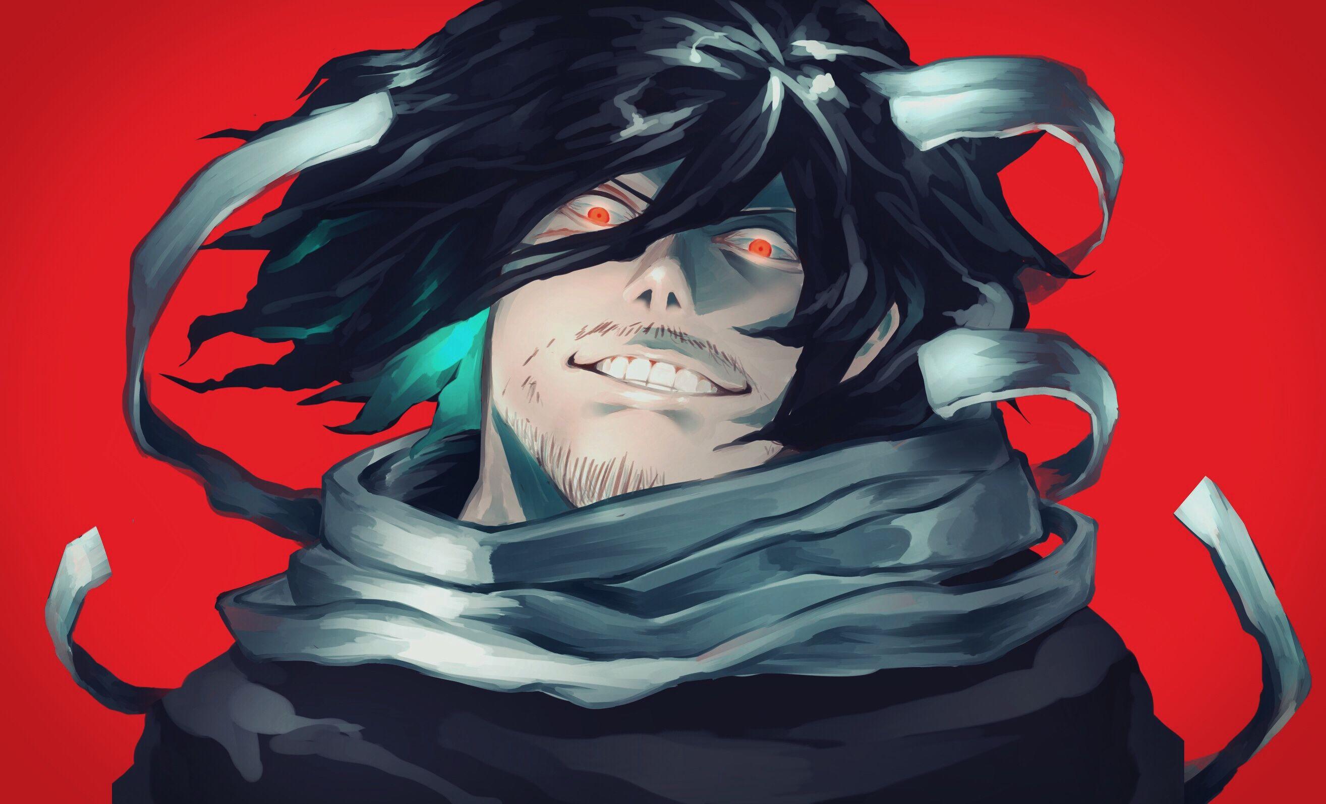Boku No Hero Academia Aizawa Shouta Creepy Smile My Hero My Hero Academia