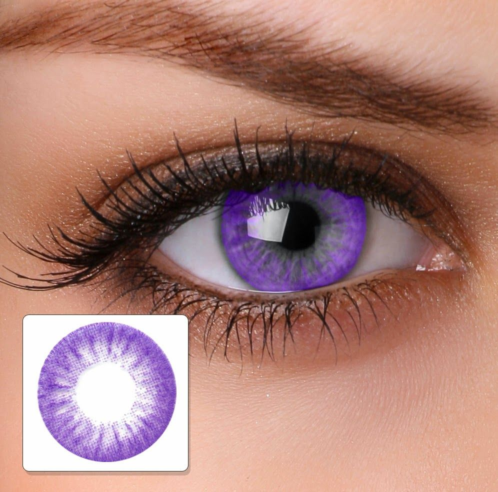 Lavender Contact Lens Beautiful Contact Lenses Colored Purple Contacts Green Contacts Lenses
