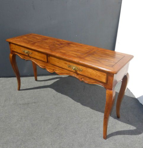 Swell Vintage Sofa Table Entry Table By Henredon Oak Two Drawers Short Links Chair Design For Home Short Linksinfo