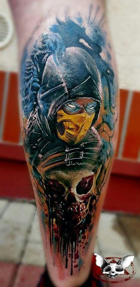 30 Ideias De Tatuagens De Mortal Kombat Ideias De Tatuagens