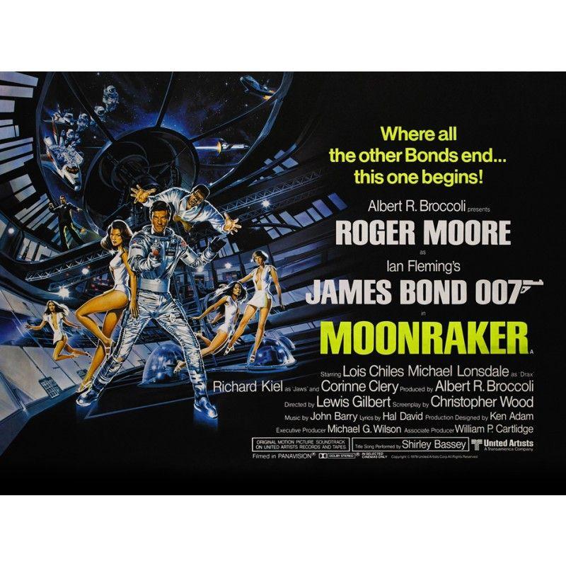 Poster 007 Contra O Foguete Da Morte Poster Posters De Filmes E