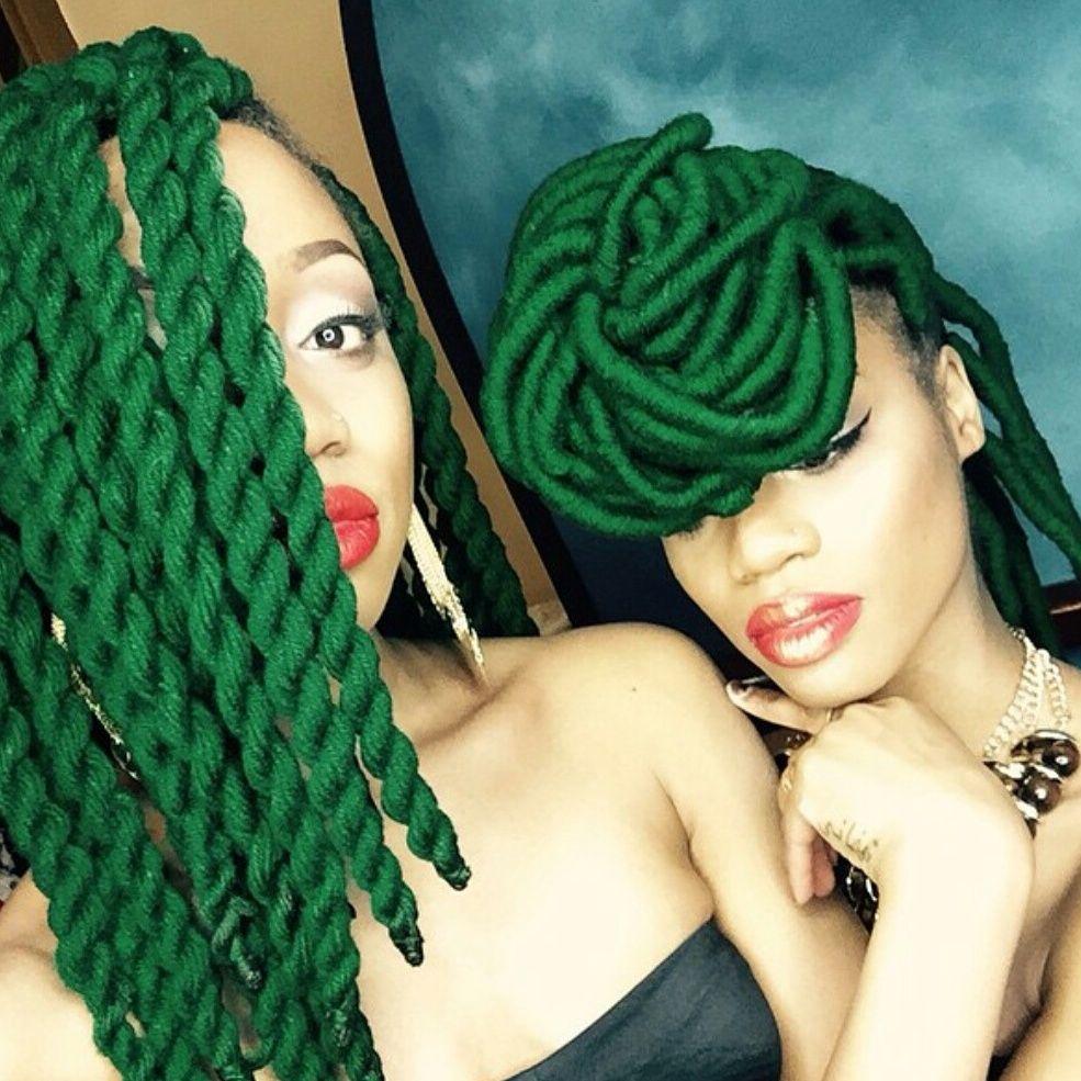 Pleasant 1000 Images About Yarn Hair On Pinterest Yarn Twist Yarn Short Hairstyles Gunalazisus