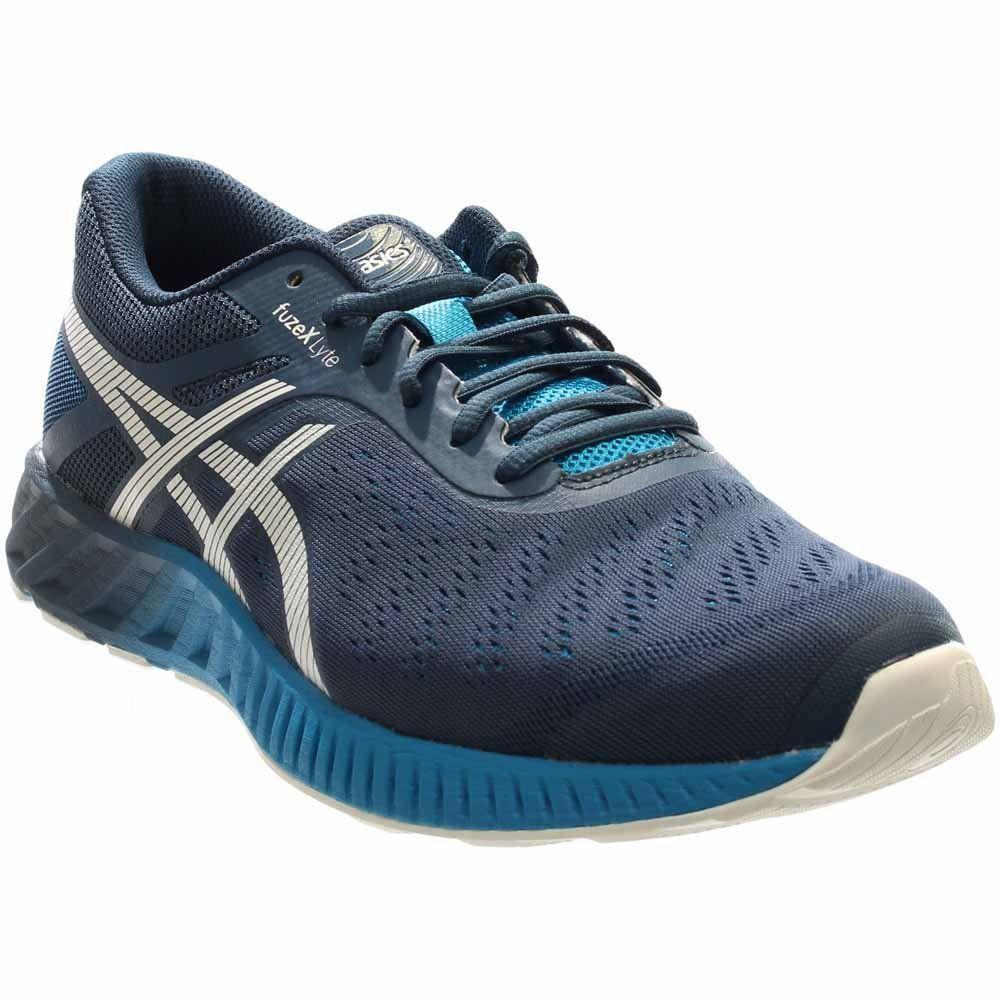 ASICS Men's Fuzex Lyte Running Shoe, Ink/White/Methyl Blue, 12.5 M
