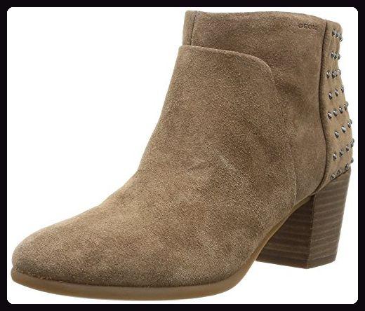 Geox D LUCINDA, Damen Kurzschaft Stiefel, Beige (TAUPEC6029