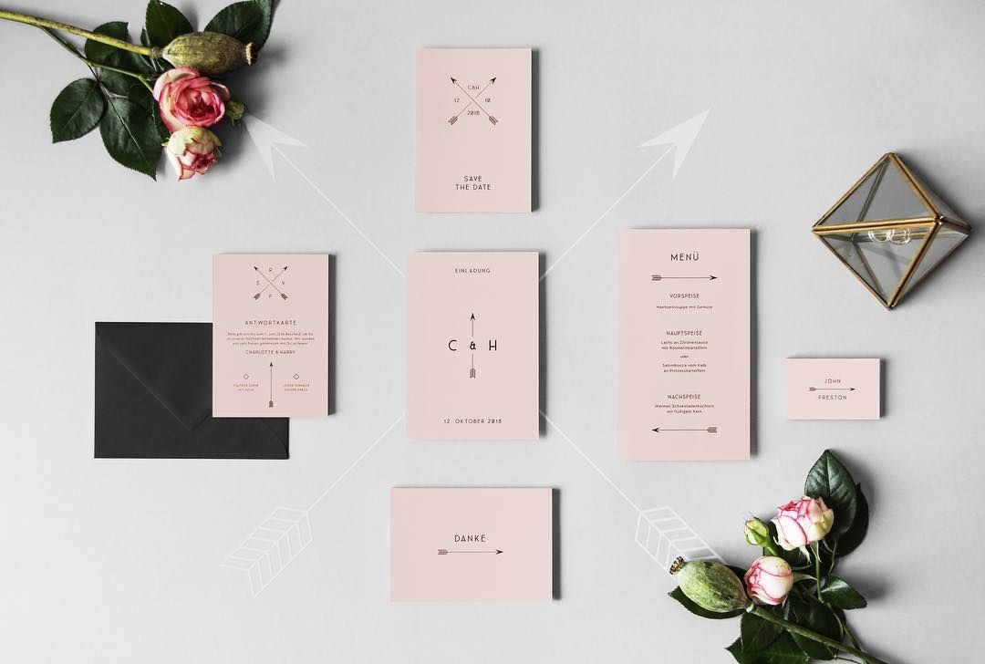 "Cards+Crafts Papeterie on Instagram: ""Our new collection combines minimalism and romance... we present you the"