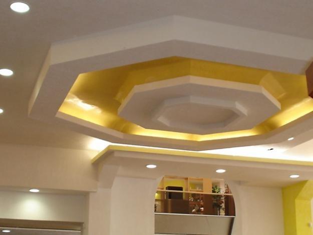 Instalacion tablaroca a pinterest plafones cielo y for Modelos de techos de yeso