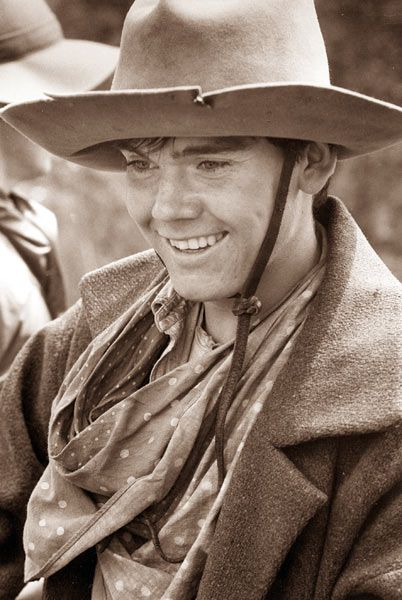 Even when I was a little girl, I knew that Newt Dobbs made a dang cute cowboy!