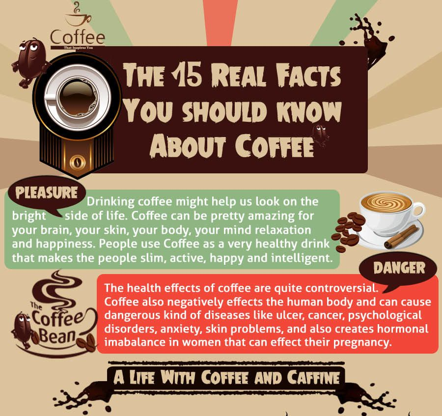 15 Facts About Coffee The Good And The Bad Coffee Facts Coffee Coffee Drinks