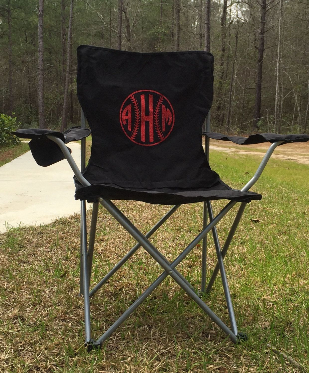 Monogrammed Chair, Camp Chair, Softball, Baseball, Groomsman Gifts, Wedding  Gifts,