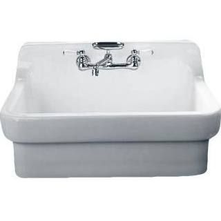 American Standard 9062 008 020 Country Kitchen Sink White
