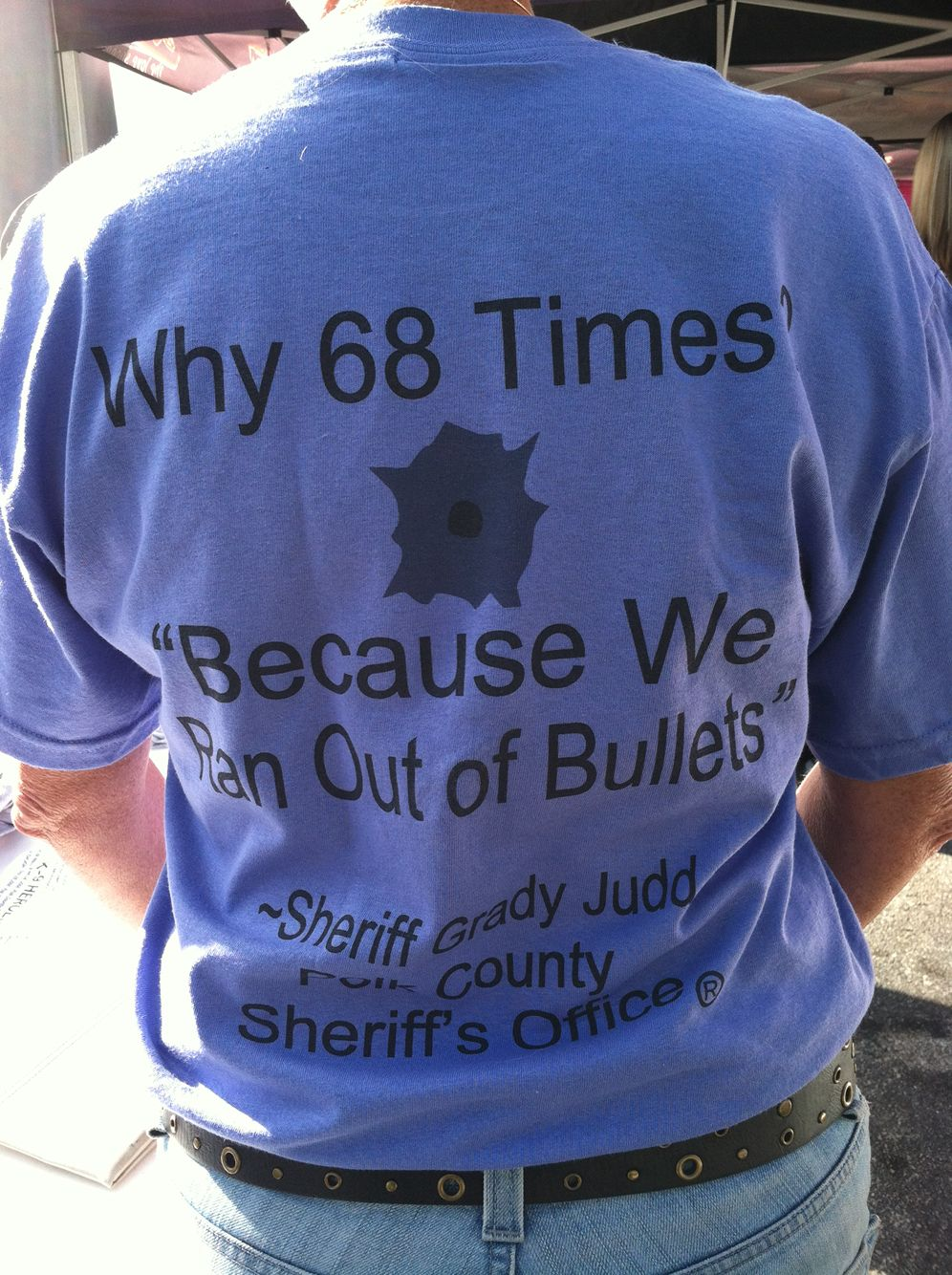 Sheriff Grady Judd Famous Quotes: Sheriff Grady Judd..... I'd Stay Out Of Polk County