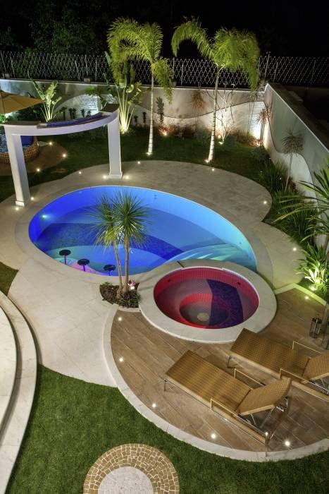 Imágenes De Decoración Y Diseño Interiores Homify Small Poolscontemporary Designswimming