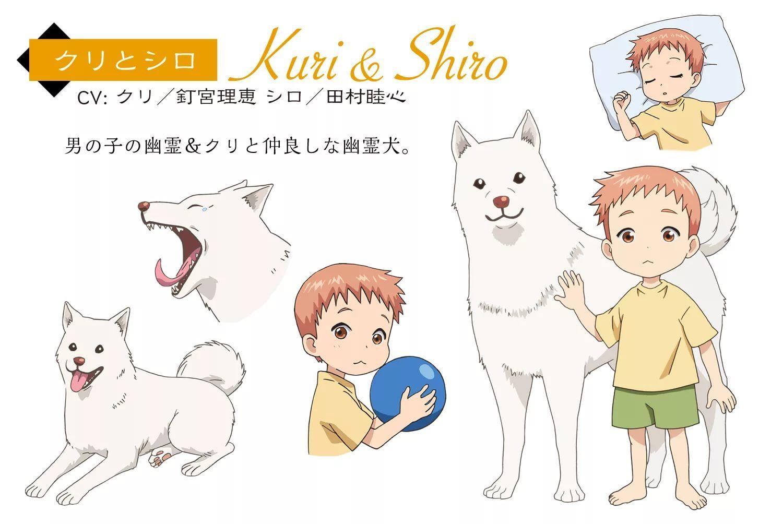 Youkai apartment no yuuga na nichijou Kuri & Shiro