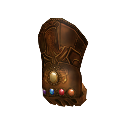 Customize Your Avatar With The Infinity Gauntlet And Millions Of Other Items Mix Match This Shoulder Accesso The Infinity Gauntlet Create An Avatar Infinity