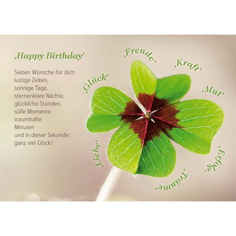 Happy Birthday – Geburtstage