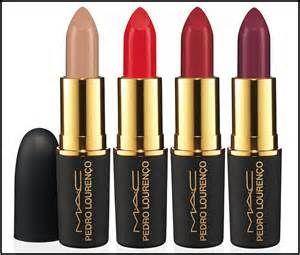 Mac lipstick Pedro Lorenco collection