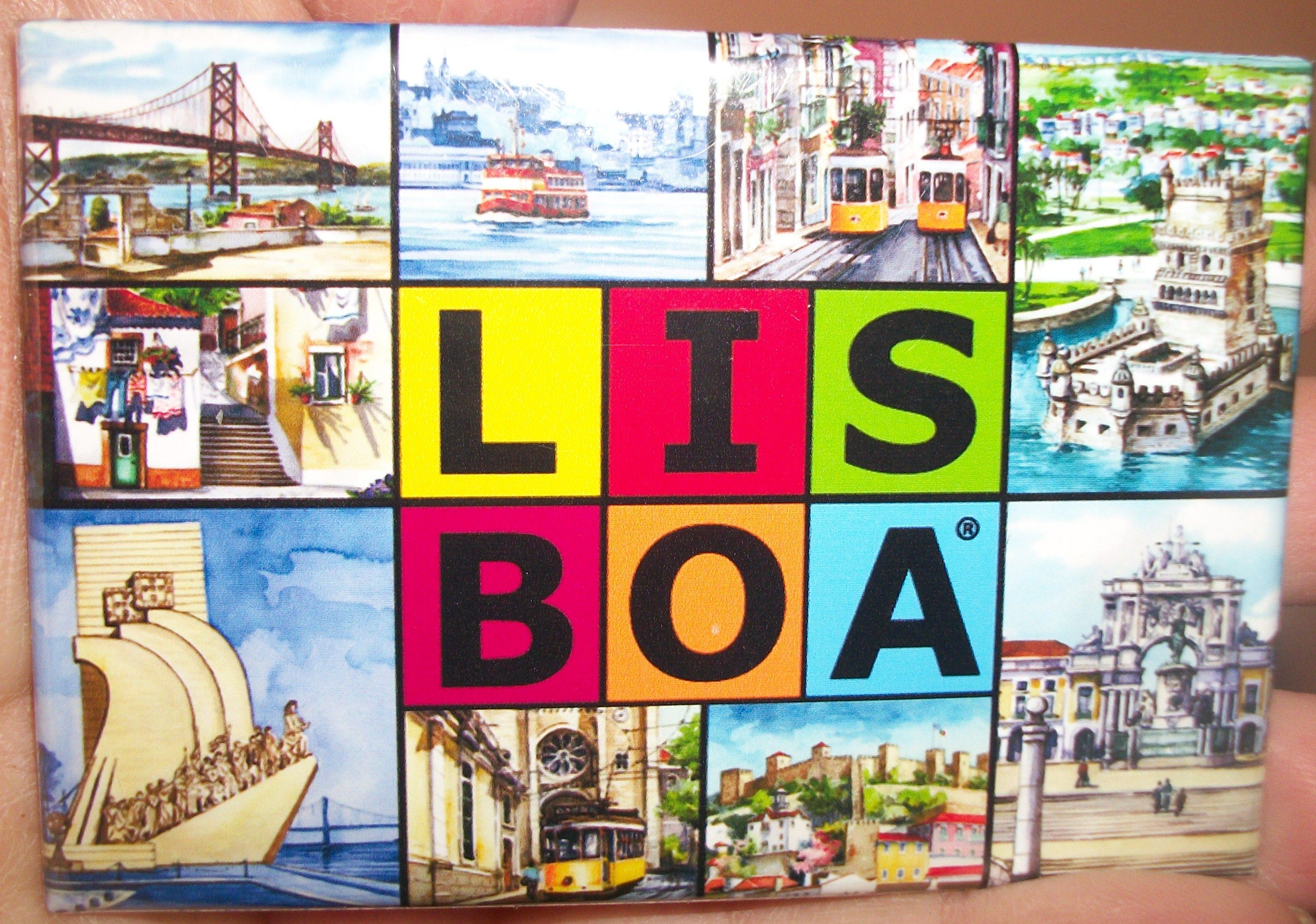 imã de locais turísiticos de Lisboa - Portugal