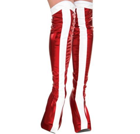 ccafe761329 Wonder Woman Boot Covers - Party City  12.99