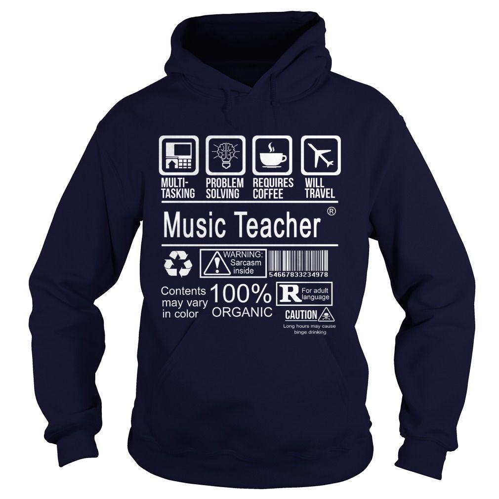 MUSIC TEACHER CERTIFIED JOB TITLE T-Shirts, Hoodies. VIEW DETAIL ==► https://www.sunfrog.com/LifeStyle/MUSIC-TEACHER--CERTIFIED-JOB-TITLE-Navy-Blue-Hoodie.html?id=41382