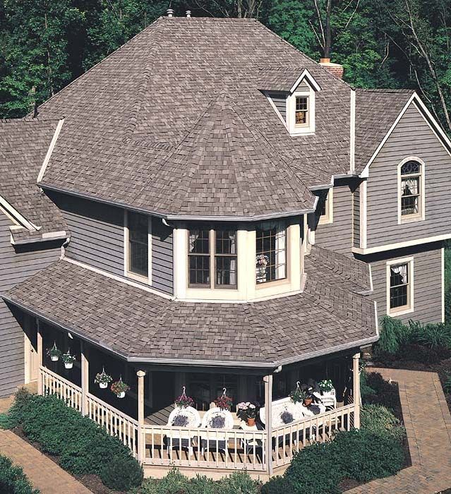 Best Weathered Wood Shingles Black House Exterior Roofing 640 x 480