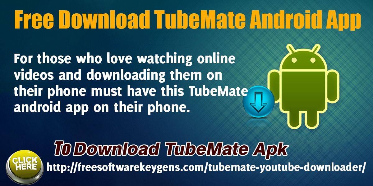 TubeMate YouTube downloader application passes you the most - free resume downloader