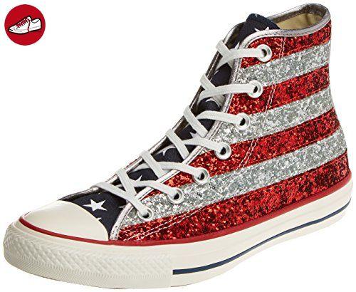 Chuck Taylor All Star 382520, Unisex - Erwachsene Sneakers, Rot (18 BORDEAUX), EU 38 Converse
