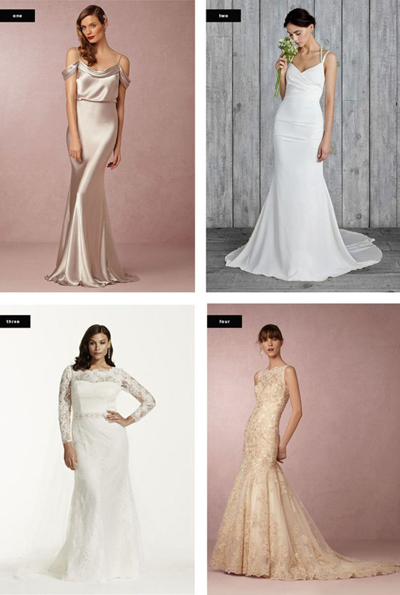 The Most Flattering Wedding Dresses for Your Body Type   Wedding ...