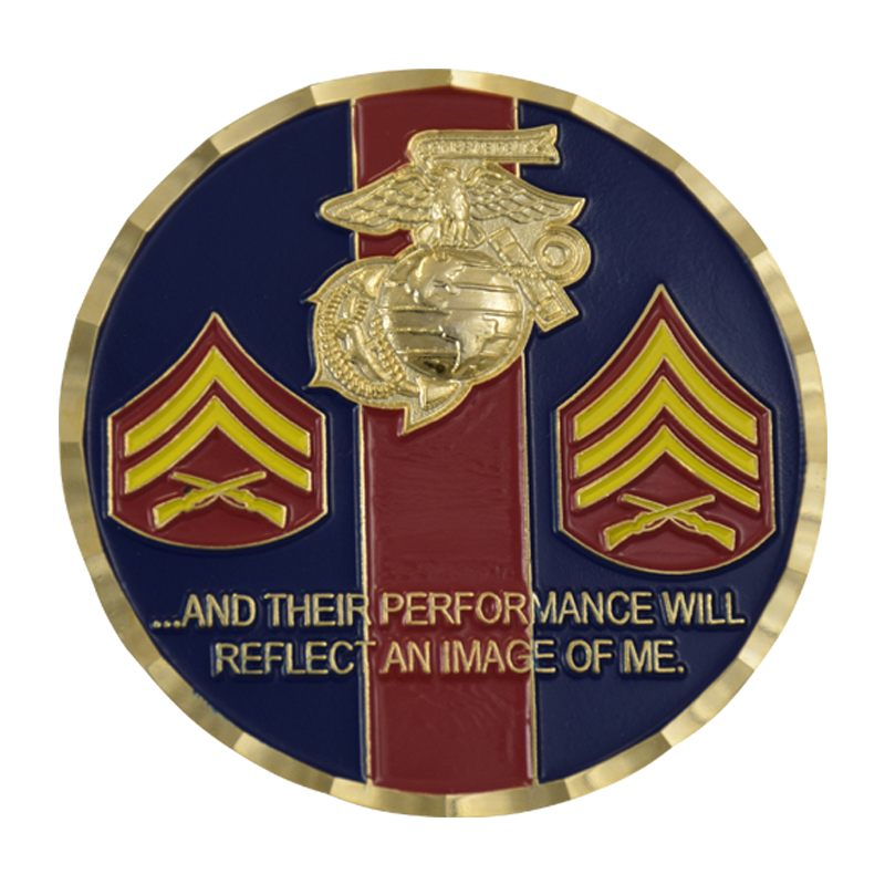 NCO Rank Insignia & Creed Coin (With images) Insignia