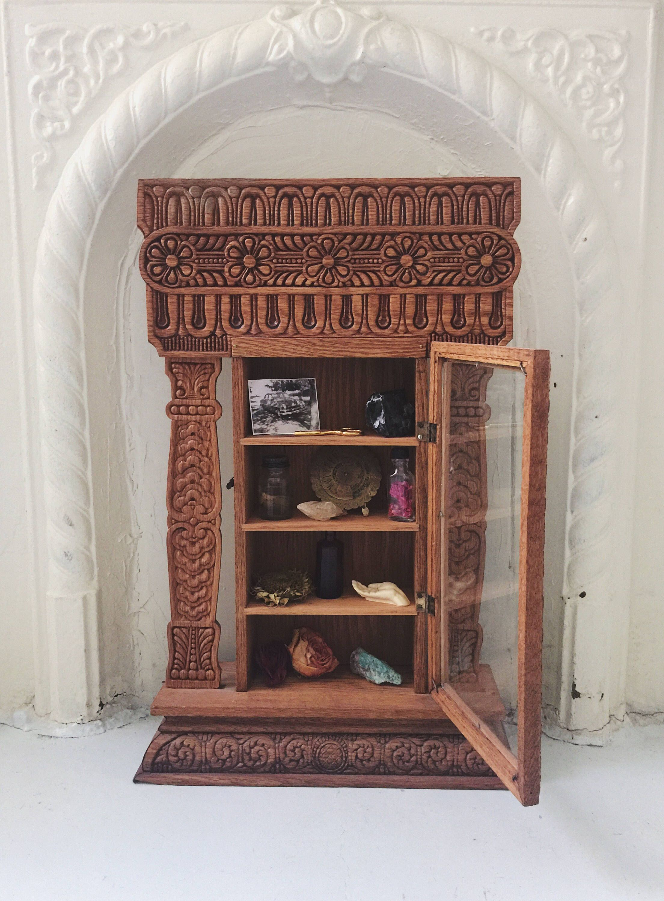 A personal favorite from my Etsy shop https://www.etsy.com/listing/516085258/gorgeous-handmade-wood-carved-antique