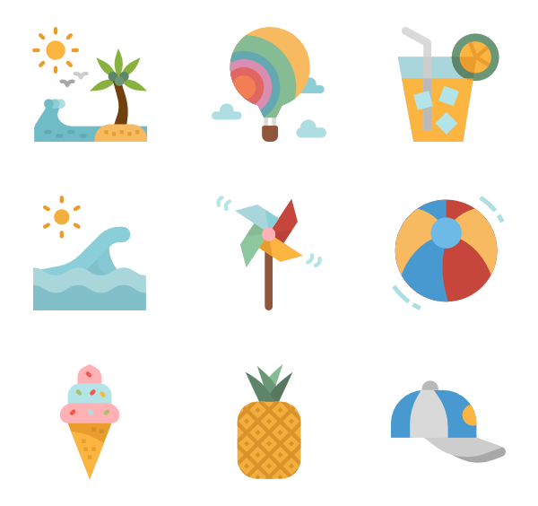 597 icon packs of summer | August Specials | Icons | Icon