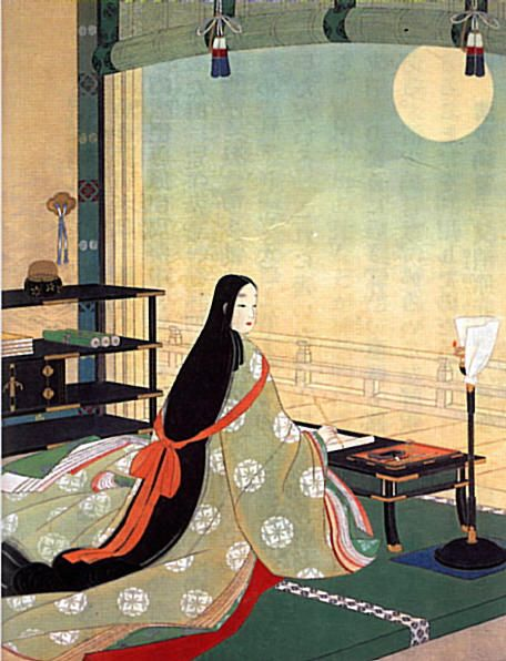 GIRLBOSS MOOD: Little is known about the Japanese author, Murasaki Shikibu  credited with writing the… | Japanese art, Japanese painting, Japanese  woodblock printing