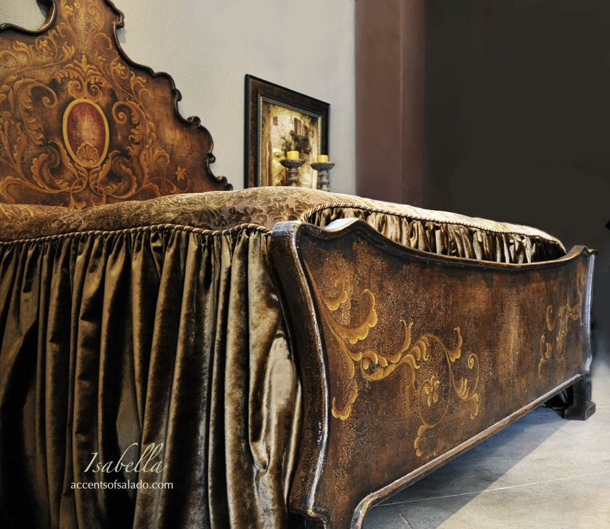 Mediterranean Bedroom Furniture . . Isabella Hand Painted