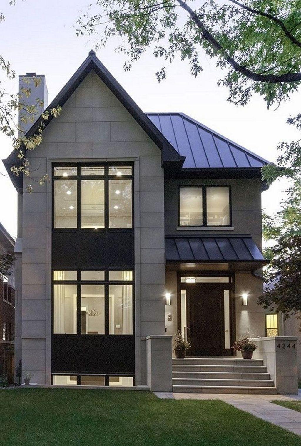 37 Stunning Contemporary House Exterior Design Ideas You Should Copy In 2020 Contemporary House Exterior House Exterior House Architecture Design