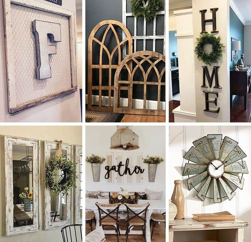 Best Modern Farmhouse Wall Decor Ideas To Add Some Rustic Flair To Your Blank Walls Fa Farmhouse Wall Decor Rustic Kitchen Wall Decor Large Rustic Wall Decor