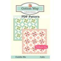 Cuddle Me Downloadable PDF Quilt PatternCotton Way