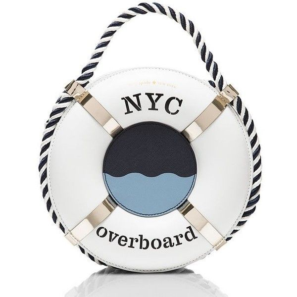 d0ea1359e6ab07 Kate Spade Expand Your Horizons 3D Life Preserver (9 845 UAH) ❤ liked on  Polyvore featuring jewelry, bags, nautical jewelry, kate spade jewelry, ...