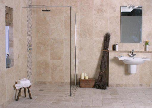 Warm Colours Glass Screen For Light I Like This Modern Bathroom Design Modern Bathroom Wet Rooms