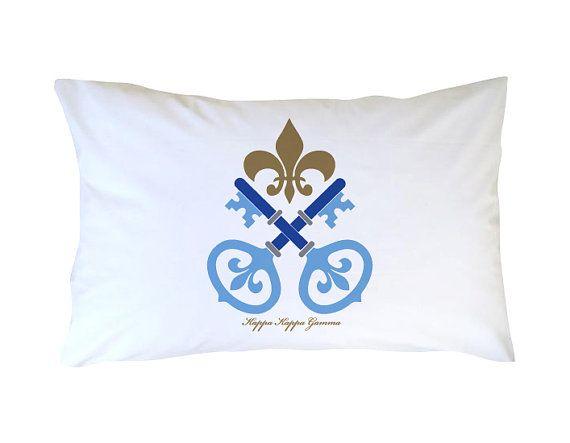 Greek Graffitis Kappa Kappa Gamma Pillowcase Adds A Special Touch