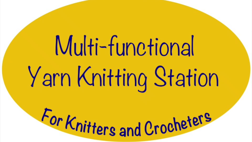 Photo of Multi-functional Yarn Knitting Station for everyone likes to Knit and Crochet.