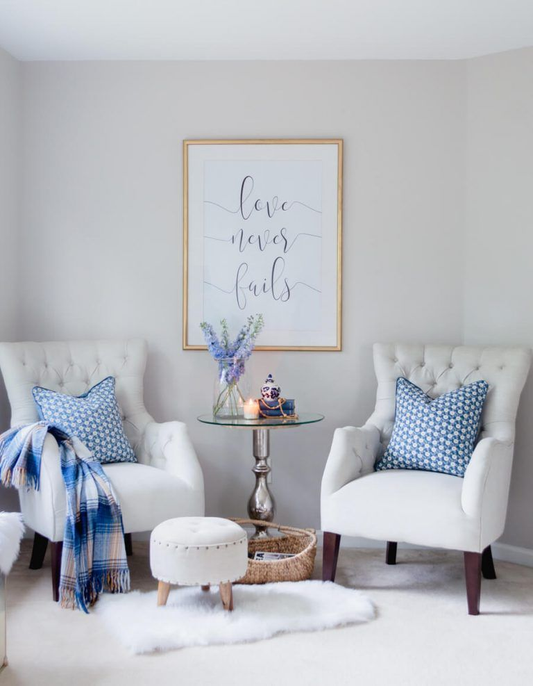 5 Easy Tips For A Cozy Master Bedroom Sitting Area
