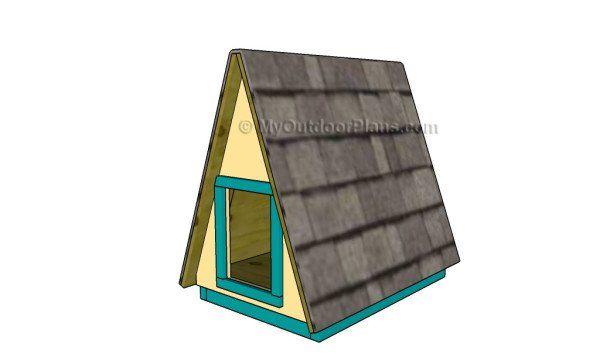 Dog House Plans MyOutdoorPlans
