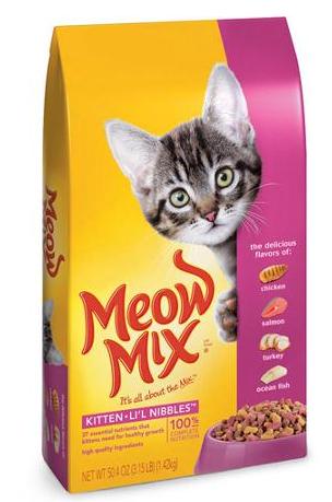 Walgreens Meow Mix Bag 3 15 Lbs 2 99 Dry Cat Food Kitten Food Cat Food