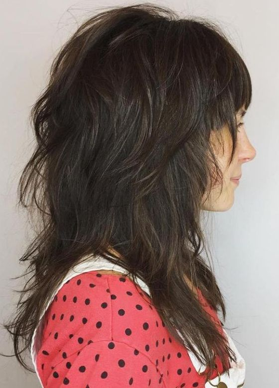 15 Best Long Shag Haircuts for Gorgeous Looks 2017-2018 | Long shag ...