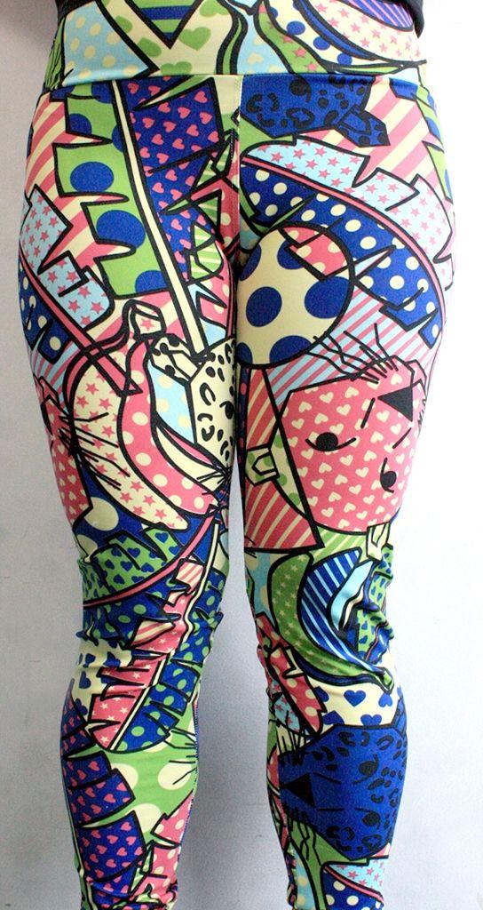 Legging linda, colorida e à venda! Veste M/G. Confere na nossa loja no Facebook https://www.facebook.com/corujeets/app_206803572685797 #legging #fashion #moda2014 #outfit #fitness #modafeminina