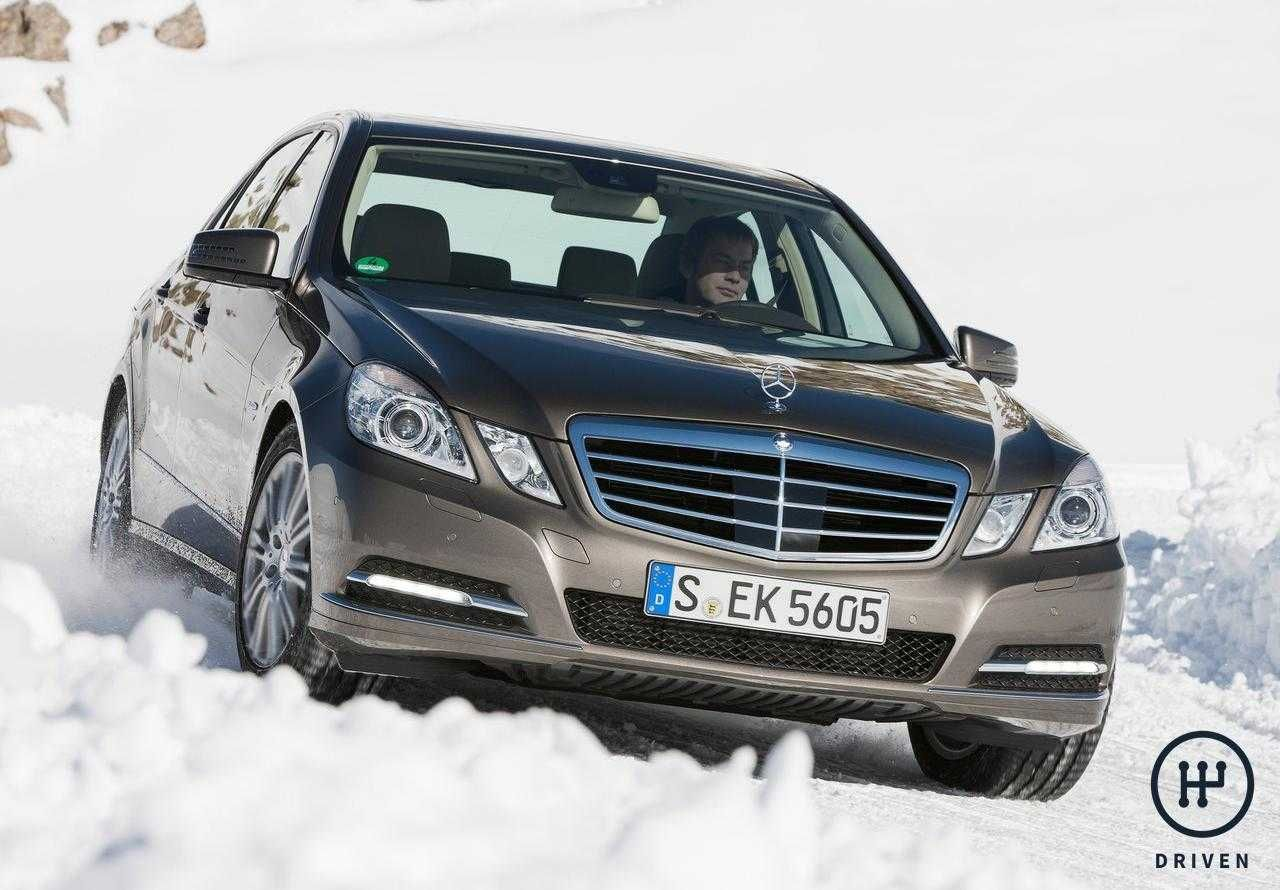 MercedesBenz 2010 EClass 4Matic Technical Features